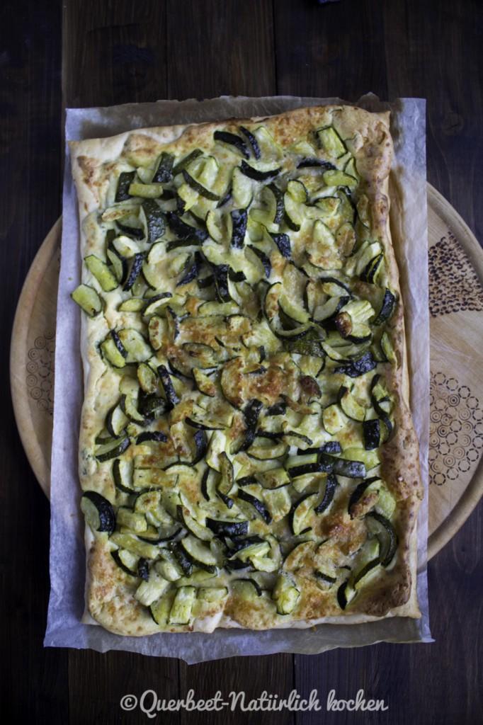 Zucchini-Ricotta-Tarte 1