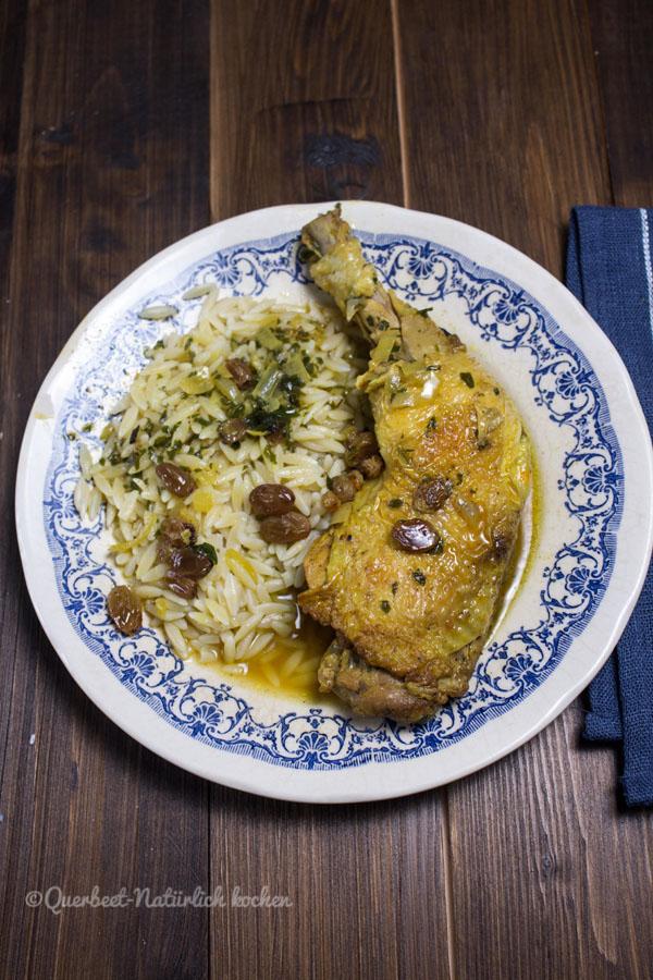 Hähnchenrezept Marokko.querbeetnatuerlichkochen