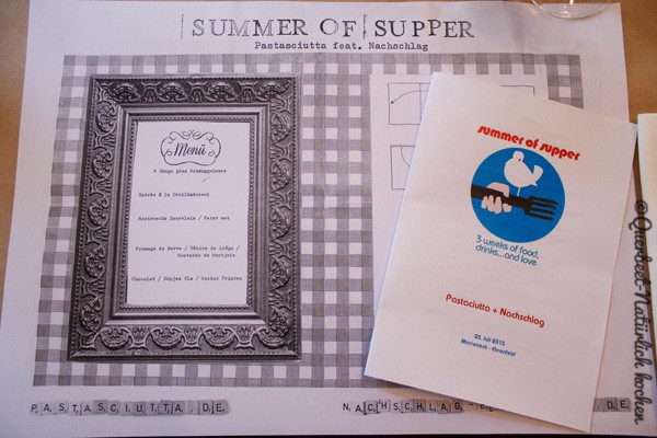Querbeet-Natürlich kochen.Summer of Supper 2015#1