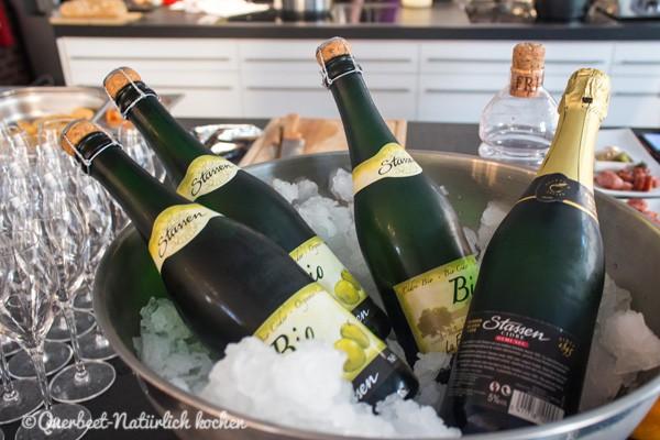 Querbeet-Natürlich kochen.Summer of Supper 2015#1.Cidre
