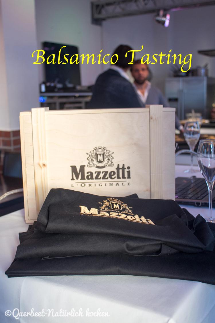 Balsamico Tasting.querbeetnatuerlichkochen