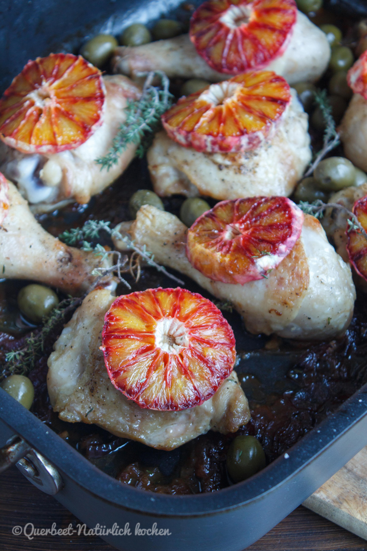 Haehnchen mit Marsala, Oliven und Blutorangen 3.querbeetnatuerlichkochen
