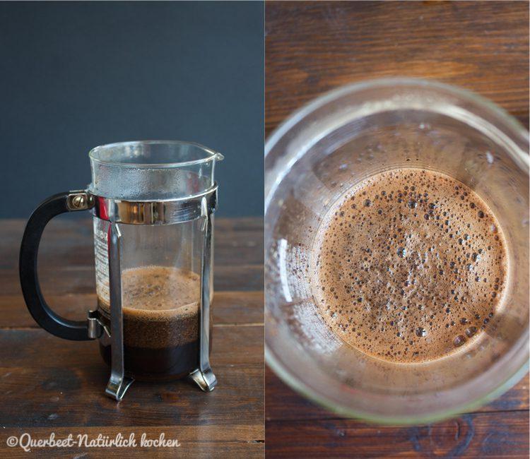 Zubereitung Kaffee in der French Press 2.querbeetnatuerlichkochen