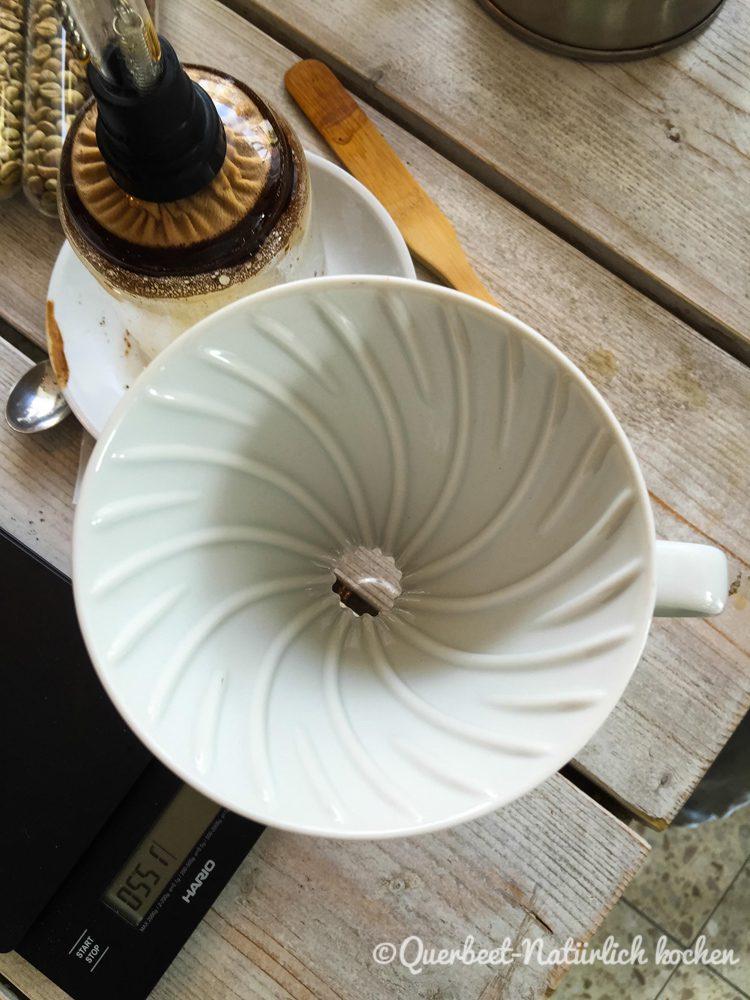 Filterkaffee Workshop 16.querbeetnatuerlichkochen