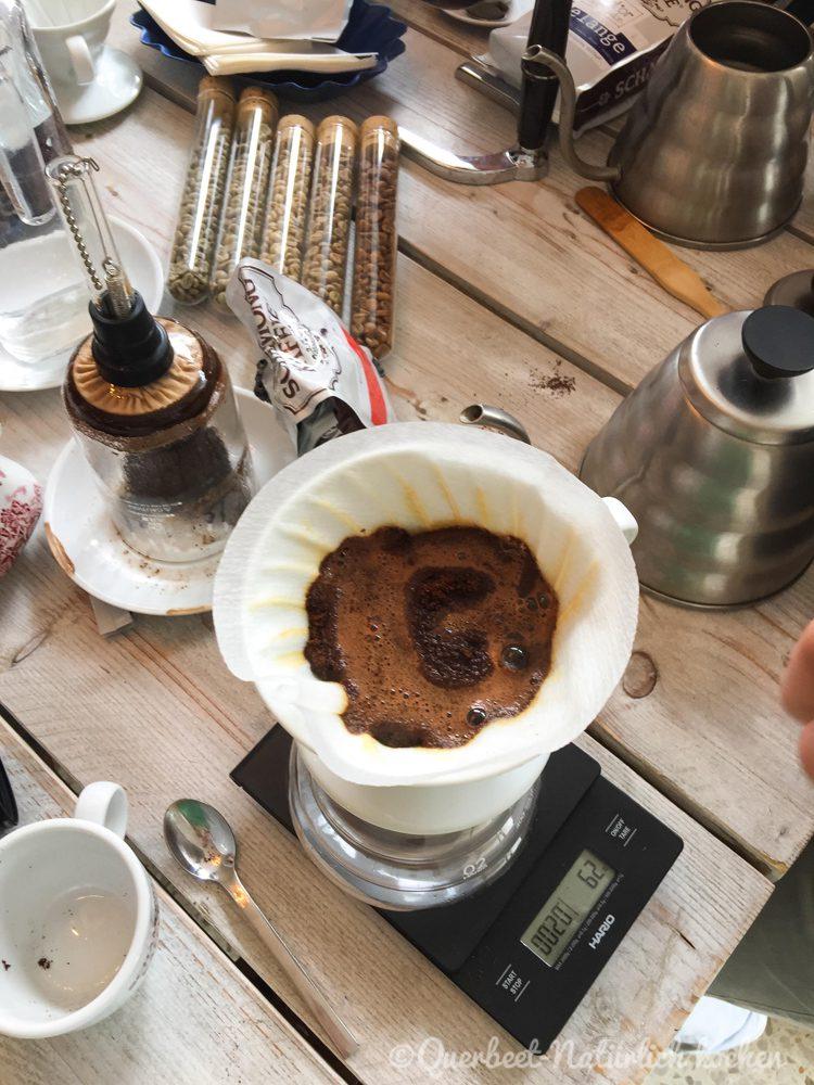 Filterkaffee Workshop 17.querbeetnatuerlichkochen