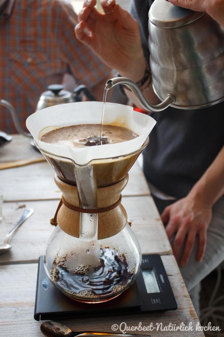 Filterkaffee Workshop 19.querbeetnatuerlichkochen