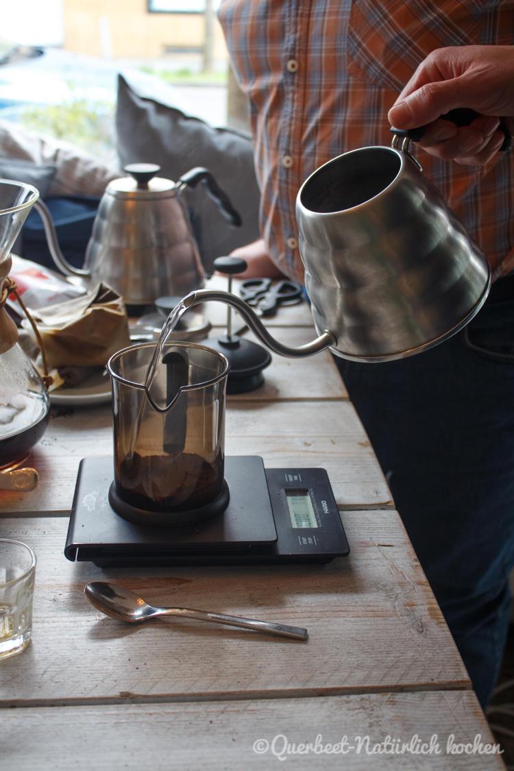 Filterkaffee Workshop 20.querbeetnatuerlichkochen