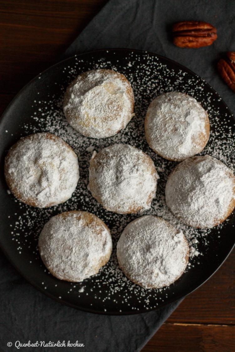 Pekannuss-Schneebälle | Sweet Yotam Ottolenghi und Helen Goh | Rezept | querbeetnatuerlichkochen.de