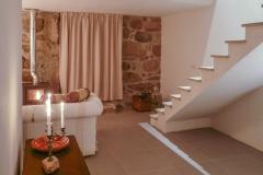 Quinta Olivia Penedo Living Wood stove