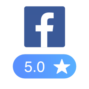 Facebook five star review rating