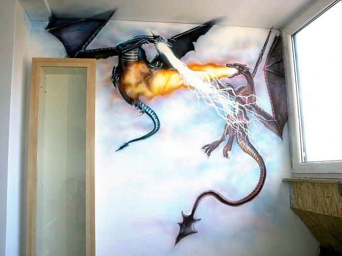 Draken gevecht