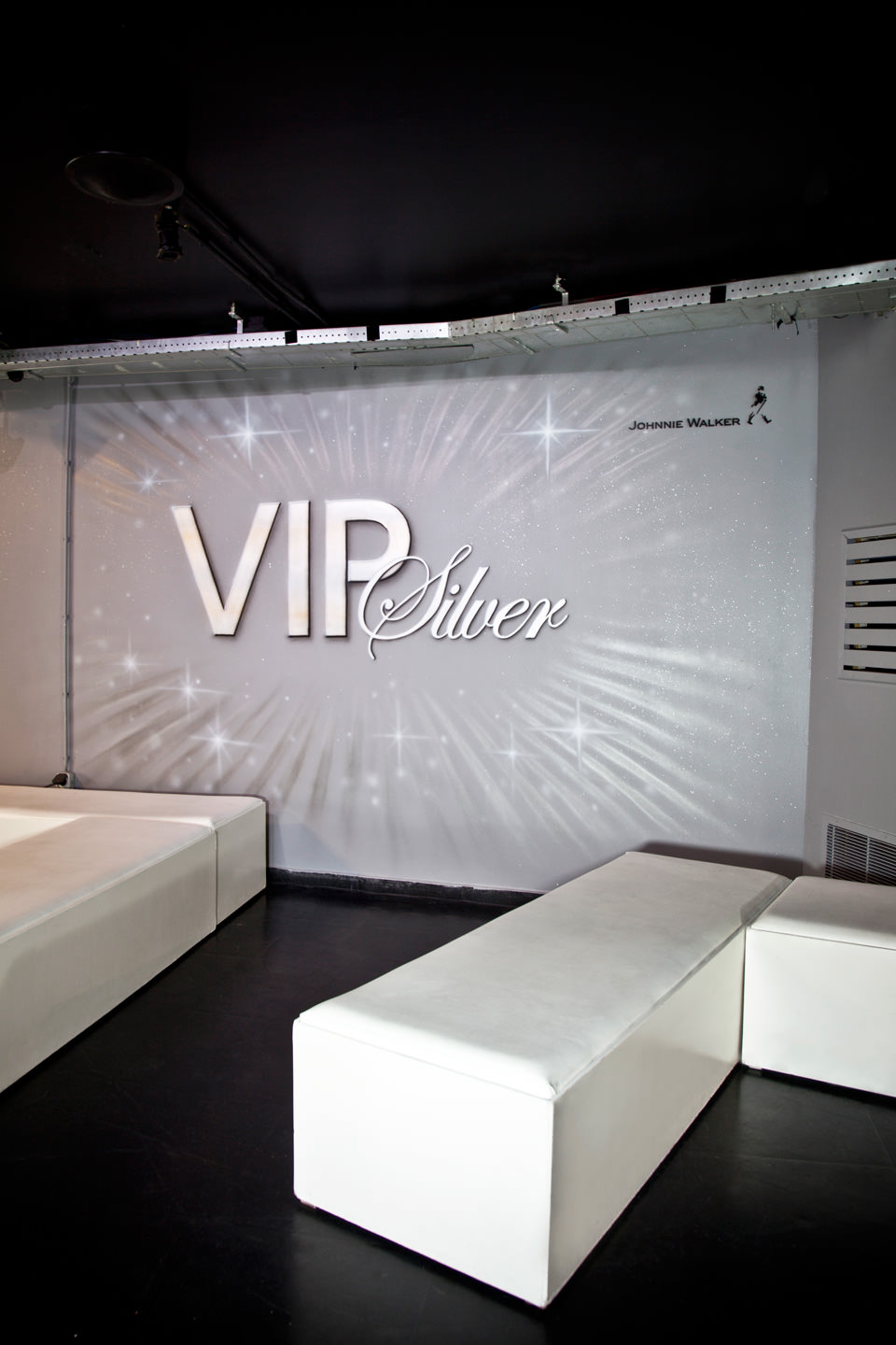 Muurschildering in de VIP room, Club Eclipse Rotterdam