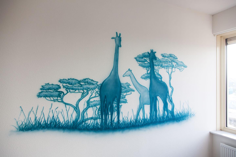 Safari silhouetten