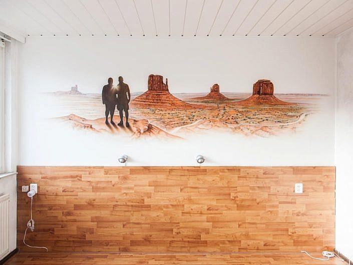 Monument Valley slaapkamer