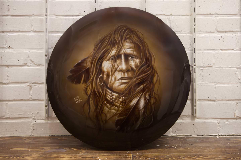 Wheelcover indiaan