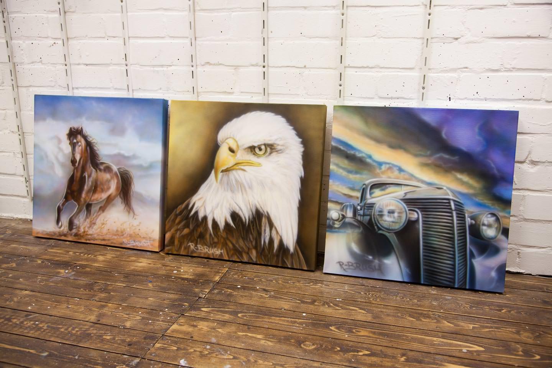 Schilderijen 50x50 cm