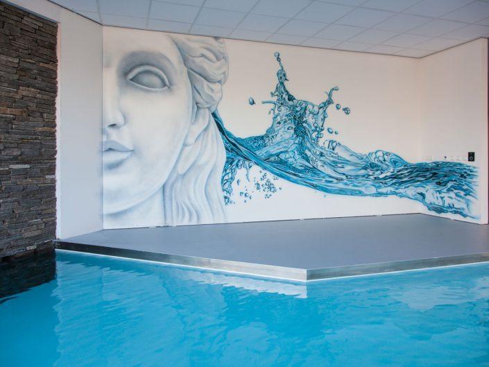 Zwembad showroom