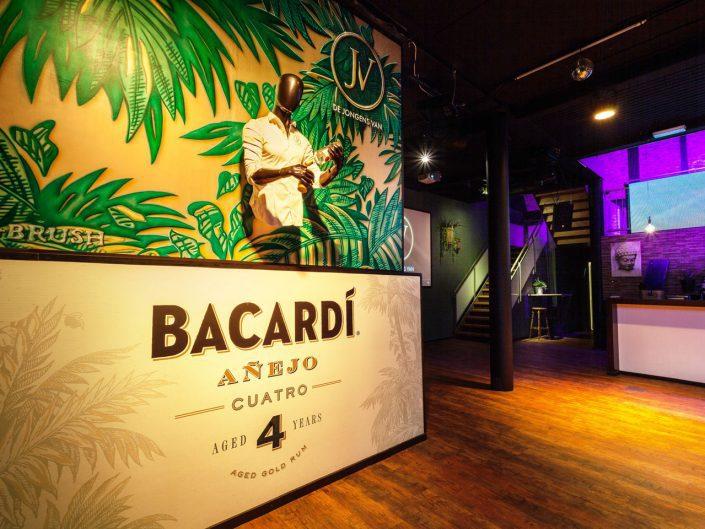 Bacardi muurschildering