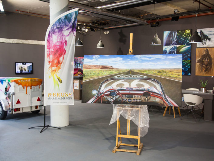 Route 66 schilderij