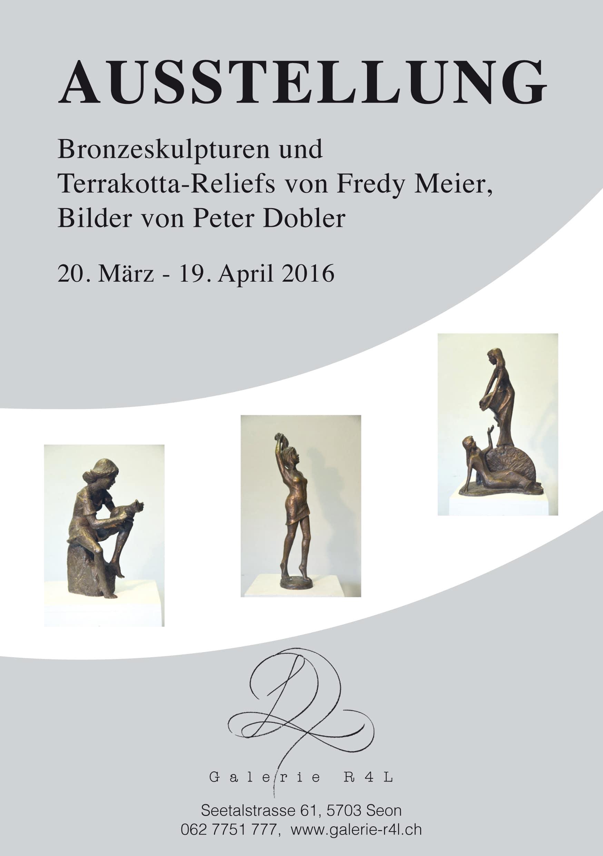 Kunstausstellung Fredy Meier & Peter Dobler