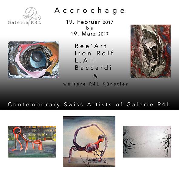 Kunstausstellung Accrochage
