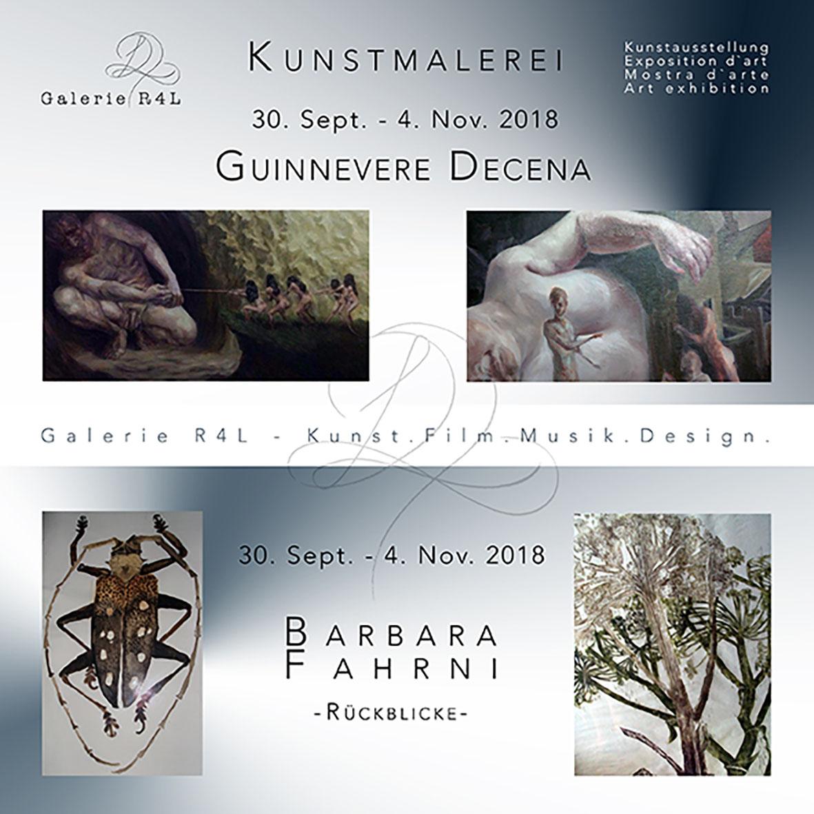 Kunstausstellung Barbara Fahrni & Guinnevere