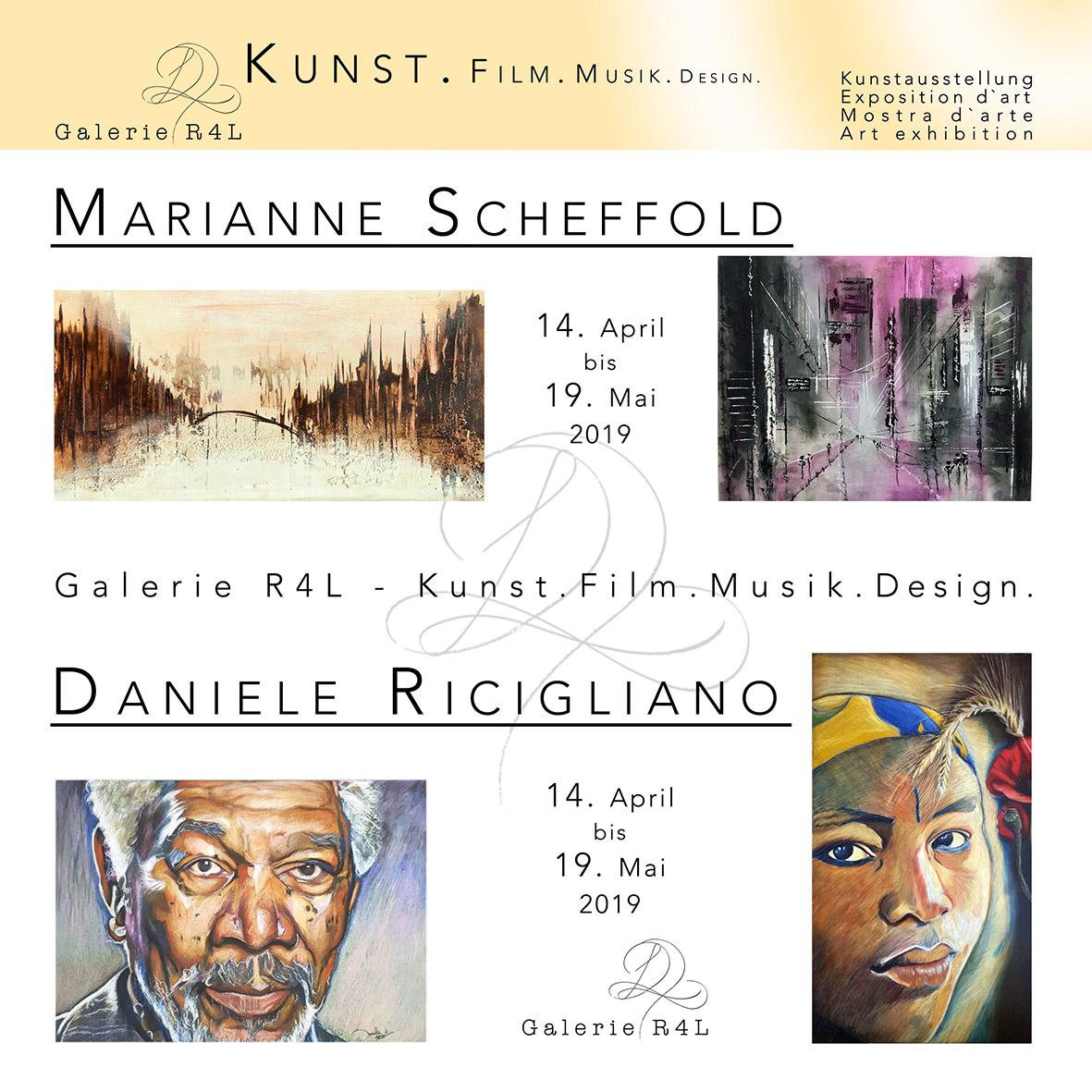 Kunstausstellung Marianne Scheffold & Daniele Ricigliano