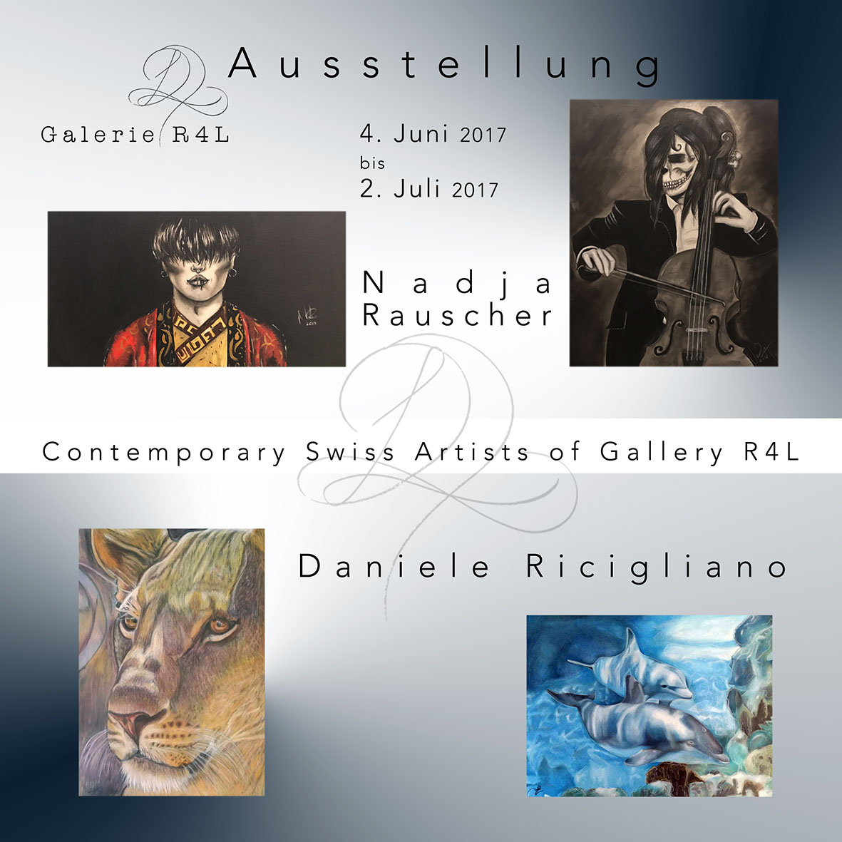 Kunstausstellung Nadia Rauscher & Daniele Ricigliano