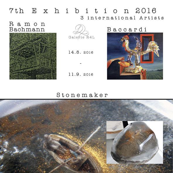Kunstausstellung Ramon Bachmann & Baccardi & Stonemaker