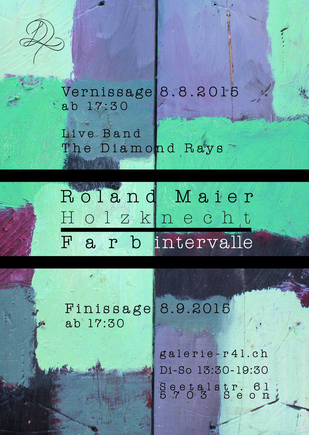 Kunstausstellung Roland Maier