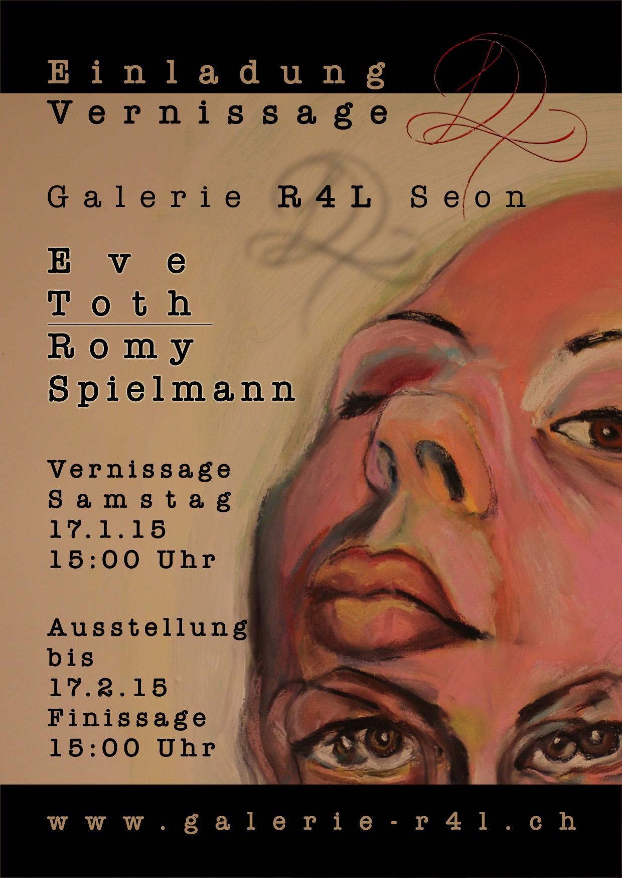 Kunstausstellung Eve Roth & Romy Spielmann