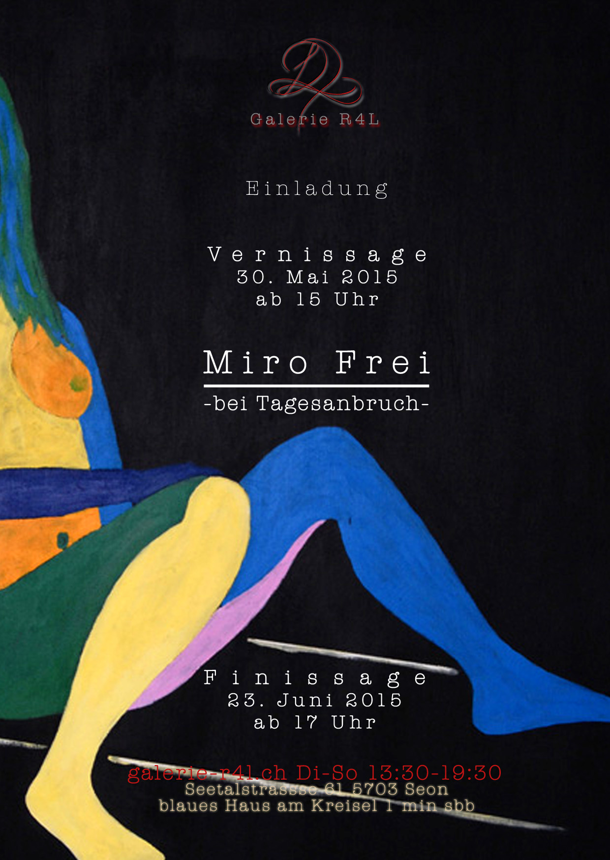 Kunstausstellung Miro Frei