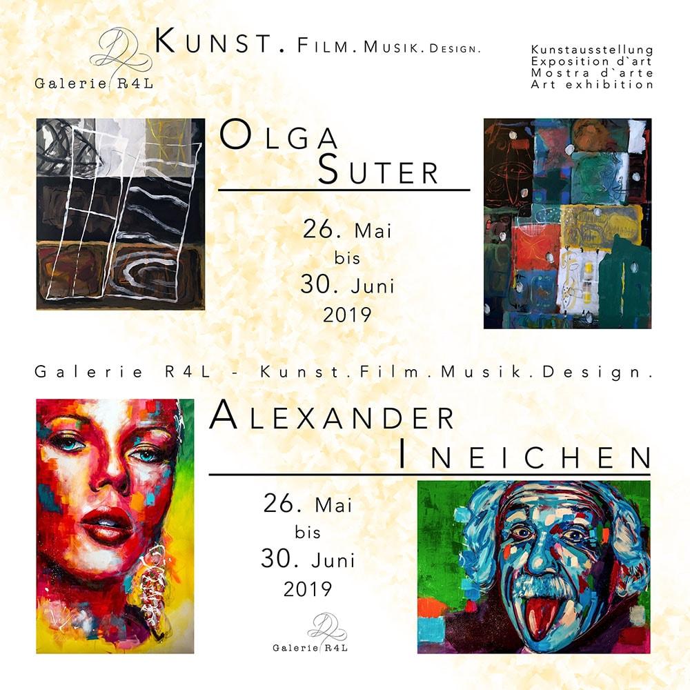 Ausstellung Galerie R4L