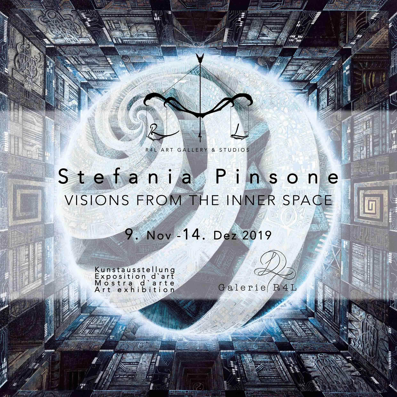 Kunstausstellung von Stefania Pinsone in der Galerie R4L