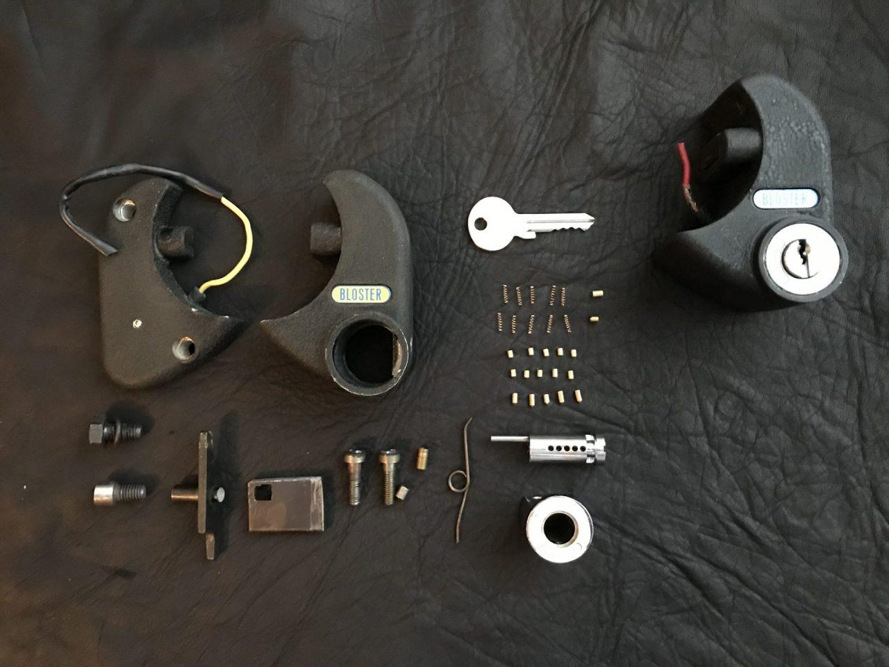 BLOSTER Steering Column Lock Image