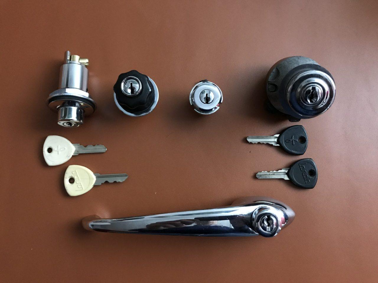 Flaminia Touring Lock Set Image