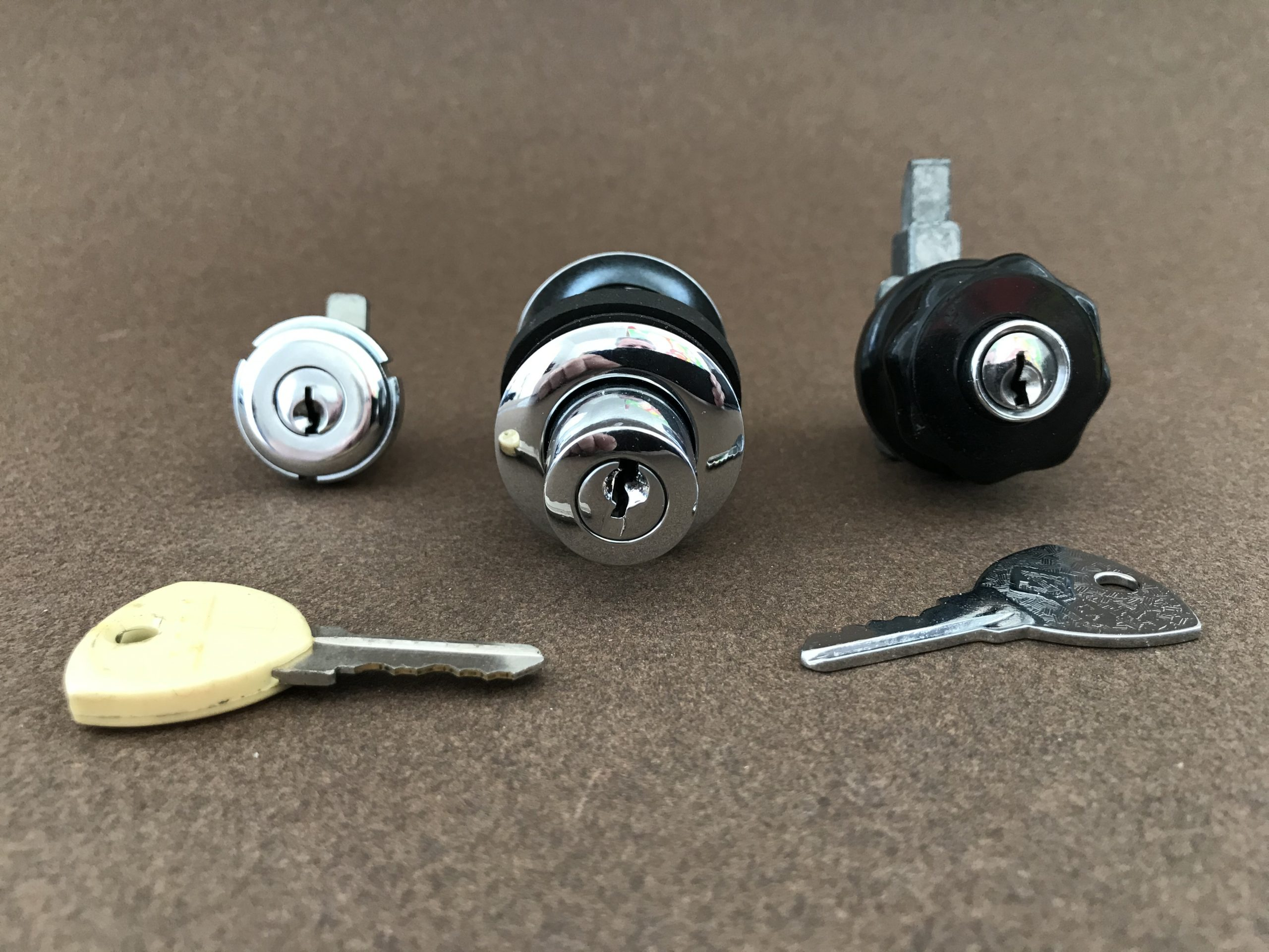 Flaminia Zagato Lock Set Image