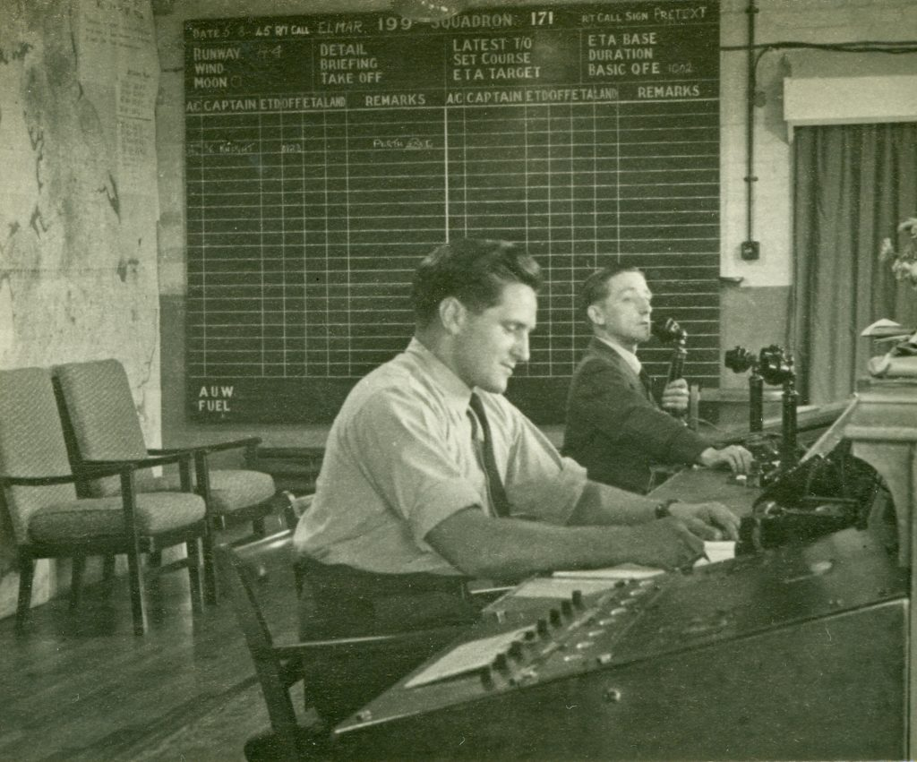 The Control Room, RAF North Creake