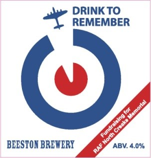 Drink to remember Beeston Brewery fundraising for RAF North Creake Memorial ABV 4%