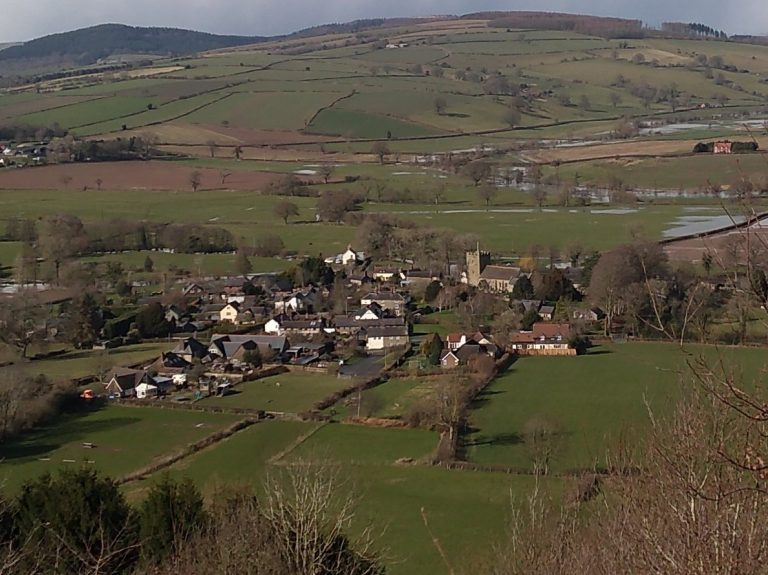 View of Clunbury
