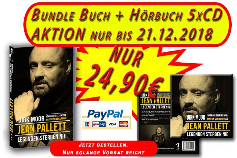Jean Pallett – Legenden sterben nie ( SPECIAL BUNDLE: Hörbuch und Buch ) AKTION