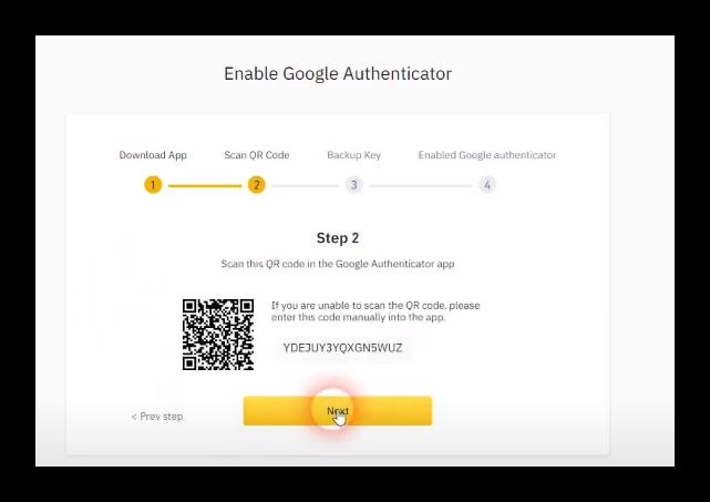 Enable Google Authenticator