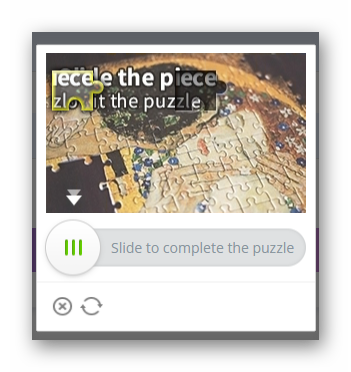 Login puzzle