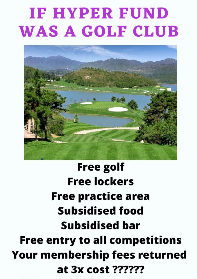 If hyper fund was a golf club