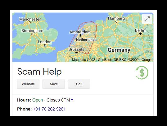 Scam Help Netherlands