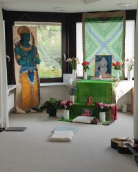 Shri Mataji Altar