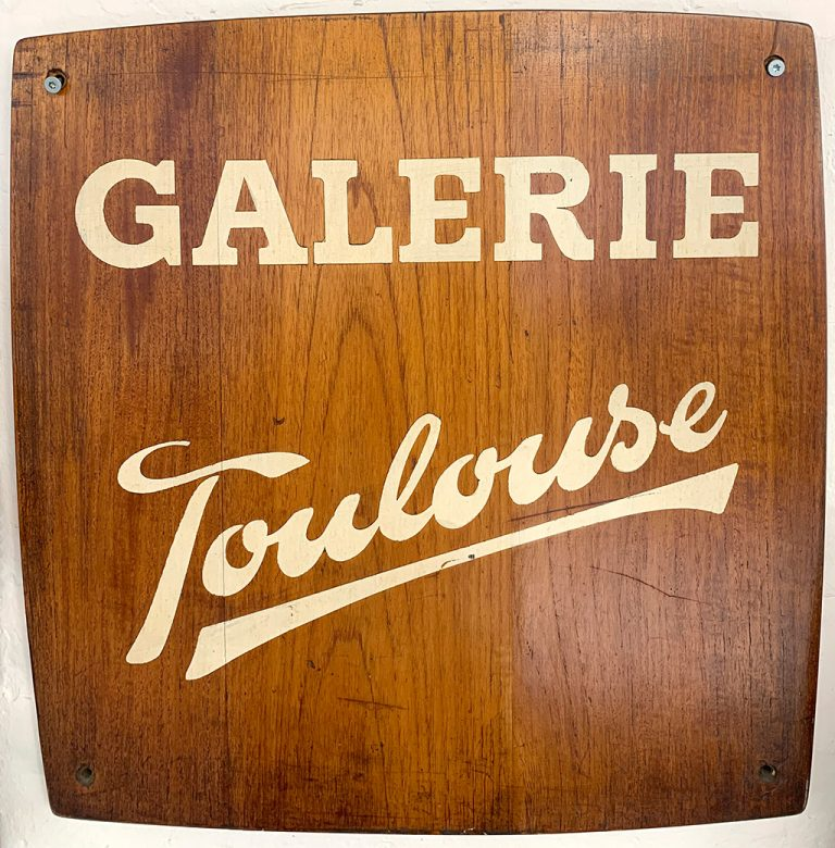 Galerie Toulouse skilt