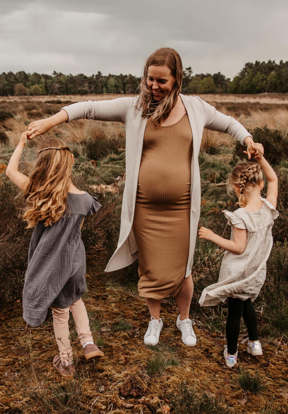 zwanger meisjesmama