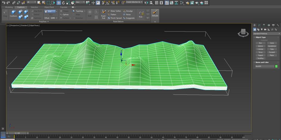 Modelering i 3D-miljö
