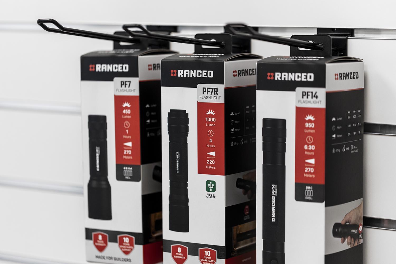Kig efter vores RANCEO produkter ude i butikkerne - Kend dem på de iøjenfaldende blisterboxes